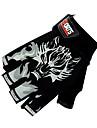 SANTIC Спортивные перчатки Перчатки для велосипедистов Дышащий Без пальцев Велосипедный спорт / Велоспорт Муж. Жен. Универсальные