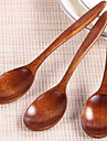 1 Pc Japanese Style Wooden Small Spoon Honey Spoon Tableware