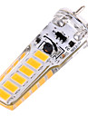 ywxlight® 4w g6.35 led bi-pin lights 12smd 5730 300-400 lm branco quente branco frio branco decorativo ac / dc 12v ac / dc 24v 1pc
