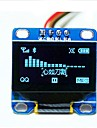 "0.96"" Inch Blue I2c IIC Serial 128x64 Oled LCD LED Display Module for Arduino 51 Msp420 Stim32 SCR"