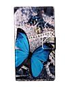 Para Capinha Nokia Carteira / Porta-Cartão / Com Suporte Capinha Corpo Inteiro Capinha Borboleta Rígida Couro PU Nokia Nokia Lumia 730