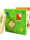 színes közvetlen környezeti intelligencia doboz alakú megfelelő építőelemek fából oktatási játékok csecsemő játékok