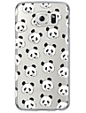 panda Pattern TPU Soft Ultra-thin Case Cover For Samsung GalaxyS7 edge / S7 / S6 edge plus /S6 edge/s6/s5/s4