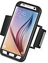Capinha Para Samsung Galaxy Samsung Galaxy S7 Edge Bracadeira Faixa de Braco Cor Solida Rigida PC para S7 edge S7