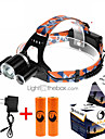 U\'King ZQ-X821 Headlamps Headlamp Straps LED 5000ML Lumens 4 Mode Cree XM-L T6 2 x 18650 Batteries Rechargeable Compact Size High Power