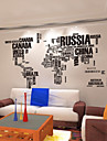 AOFU Words & Quotes Wall Stickers Plane Wall Stickers Decorative Wall Stickers, Home Decoration Wall Decal 95AB