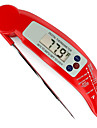 Food Kitchen Barbecue BBQ Electron Probe Folding Probe Thermometer(Color Random Delivery)