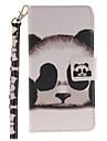Для Кейс для Huawei / P9 / P9 Lite / P8 Lite Кошелек / Бумажник для карт / Флип / С узором Кейс для Чехол Кейс для Животный принт Твердый