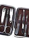 7pcs / комплект ногтей инструментов Когтерез по уходу за ногтями ножничные пинцет нож уха выбрать маникюрный набор инструментов