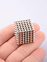 Magnet Toys 216Pcs 3mm Magnet Toys Executive Toys Puzzle Cube DIY Toys Magnetic Balls Silver Education Toys For Gift