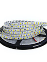 5m Bandes Lumineuses LED Flexibles 300 LED 5050 SMD Blanc Chaud / Rouge / Bleu Impermeable / Decoupable / Connectible 12 V / IP65