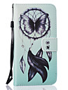 Case For Samsung Galaxy Samsung Galaxy Case Card Holder Wallet with Stand Full Body Cases Dream Catcher Hard PU Leather for A5(2016)