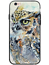 Transparent/Pattern Owl TPU&Acrylic Soft Case For Apple iPhone 6s Plus/6 Plus/iPhone 6s/6/iPhone SE/5s/5