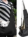 Cat Dog Carrier & Travel Backpack Sling Bag Pet Baskets Portable Green Blue Stripe Red/White White/Blue For Pets