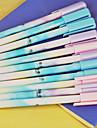 gel Στυλό Στυλό Στιλό Ζελέ Στυλό,Πλαστικό Βαρέλι Μαύρο μελάνι Χρώματα For Σχολικές προμήθειες Προμήθειες γραφείου Πακέτο