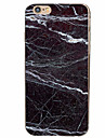 Black Marble Pattern Material TPU Phone Case for iPhone 7 7 Plus 6s 6 Plus SE 5s 5