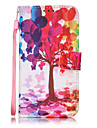 Case For Apple iPhone 7 Plus iPhone 7 Card Holder Wallet with Stand Flip Pattern Full Body Cases Tree Hard PU Leather for iPhone 7 Plus