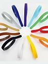Dog Collar Pet Puppy ID Collars Adjustable/Retractable Velcro Rainbow 12 Colors Multicolor Nylon
