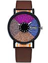 여성용 패션 시계 손목 시계 캐쥬얼 시계 석영 / PU 밴드 캐쥬얼 멋진 블랙 화이트 레드 브라운 그린