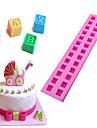 Bakeware eszközök Szilikon Környezetbarát Nem tapad Sütés eszköz Kenyér Torta Keksz süteményformákba