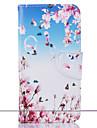 Pour Portefeuille Porte Carte Avec Support Motif Coque Coque Integrale Coque Fleur Dur Cuir PU pour Samsung J5 (2016) J5 J3 J1 (2016)