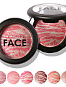 FOCALLURE 6 Colors Makeup Baked Blush Cosmetic Beauty Care Makeup for Face
