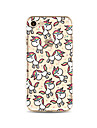 Coque Pour Apple iPhone X iPhone 8 Plus iPhone 7 iPhone 6 Coque iPhone 5 Translucide Motif Coque Arriere Licorne Flexible TPU pour iPhone