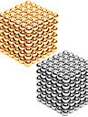 2*216PCS 3MM Golden&Silver Combined DIY Magnetic Balls Sphere Beads Magic Magnet Puzzle Executive Building Block