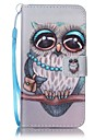 For Samsung Galaxy J7 (2016) J5 (2016) Card Holder Wallet Case Full Body Case Owl Hard PU Leather J5 J3 J3 (2016)