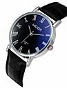 Men\'s Quartz Casual Fashion Watch Leather Belt Simple Classic Business Round Alloy Dial Watch Cool Watch Unique Watch