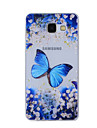 Pour Motif Coque Coque Arriere Coque Papillon Flexible TPU pour Samsung A8(2016) / A5(2016) / A3(2016) / A8 / A7 / A5 / A3