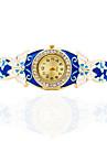 Women\'s Bracelet Watch Mechanical manual-winding Alloy Band Butterfly Bohemian Bangle Elegant Gold