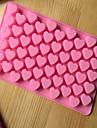 초콜릿에 대한 목록 bakeware 실리콘 심장 모양의 베이킹 금형 cm-87