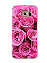 Case For Samsung Galaxy Pattern Back Cover Flower Soft TPU for Note 5 Note 4 Note 3