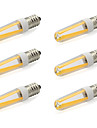 480 lm E14 LED a Double Broches T 4 diodes electroluminescentes COB Blanc Chaud Blanc Froid AC 220-240V AC 85-265V