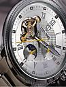 Tevise Мужской Женские Для пары Спортивные часы Часы со скелетом Модные часы Механические часыКалендарь Защита от влаги Светящийся