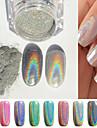 1個 グリッター素材 ネイルジュエリー 用途 指の爪 足指の爪 かわいい ネイルアート マニキュアペディキュア 輝き / シック・モダン / トレンディー / 光る