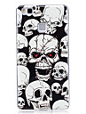 Case For Huawei P9 Lite Huawei Huawei P8 Lite Glow in the Dark IMD Pattern Back Cover Skull Soft TPU for Huawei P9 Lite Huawei P8 Lite