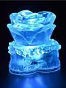 1 ед. LED Night Light Ударопрочный Водонепроницаемый Хрусталь Художественный LED