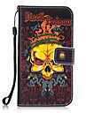 Case For Samsung Galaxy S8 Plus S8 Card Holder Wallet with Stand Back Cover Skull Hard PU Leather for S8 Plus S8 S7 edge S7 S6 edge S6 S5