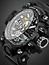 SANDA Homme Quartz Montre Bracelet / Montre de Sport Alarme / Calendrier / Etanche / Cool / Noctilumineux / Chronometre / Lumineux
