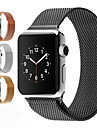 Horlogeband voor Apple Watch Series 3 / 2 / 1 Apple Milanese lus Roestvrij staal Polsband