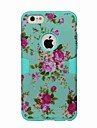 Coque Pour Apple iPhone 6 iPhone 6 Plus Antichoc Motif Coque Integrale Fleur Dur TPU pour iPhone 6s Plus iPhone 6s iPhone 6 Plus iPhone 6