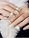 24 pcs Joias de unha Glitters / Fashion Diario Nail Art Design