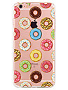 Capinha Para Apple iPhone X iPhone 8 Plus iPhone 7 iPhone 6 Capinha iPhone 5 Estampada Capa Traseira Comida Macia TPU para iPhone X