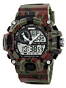 Men\'s Digital Watch / Wrist Watch / Military Watch Alarm / Calendar / date / day / Water Resistant / Water Proof Rubber Band Camouflage