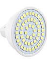 1pc 4W 450-500lm GU5.3(MR16) LED Spotlight MR16 54 LED Beads SMD 2835 Decorative Warm White Cold White