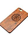 Pour Coques iPhone 6 Plus Etuis coque Coque Arriere Coque Dur Bois pour iPhone 6s Plus iPhone 6 Plus