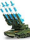 Игрушки Военная техника Игрушки Выдвижной Танк Металл Классический и неустаревающий Изысканный и современный 1 Куски Мальчики Девочки