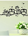 Animals Wall Stickers Plane Wall Stickers Decorative Wall Stickers, Vinyl Home Decoration Wall Decal Wall Glass/Bathroom
